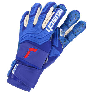 Attrakt Freegel Fusion Ortho-Tec Goaliator Torwarthandschuhe, blau / weiß, zoom bei OUTFITTER Online