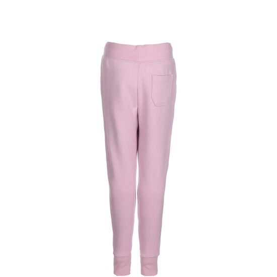 Sport Style Fleece Jogginghose Kinder, pink / weiß, zoom bei OUTFITTER Online