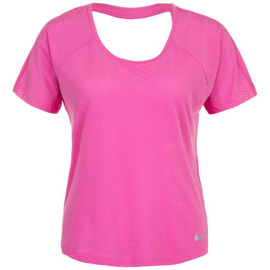Miler Breathe Laufshirt Damen, pink, zoom bei OUTFITTER Online