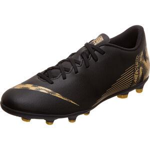Mercurial Vapor XII Club MG Fußballschuh Herren, schwarz / gold, zoom bei OUTFITTER Online