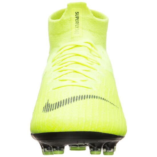 Mercurial Superfly VI Elite DF AG-Pro Fußballschuh Herren, neongelb / schwarz, zoom bei OUTFITTER Online