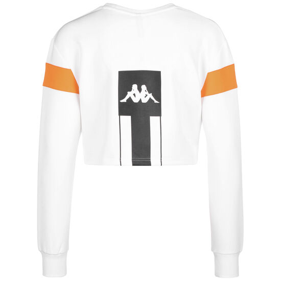 Authentic La Corbin Sweatshirt Damen, weiß / orange, zoom bei OUTFITTER Online