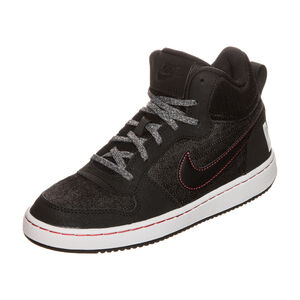 Court Borough Mid SE Sneaker Kinder, Schwarz, zoom bei OUTFITTER Online