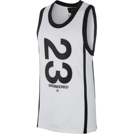 23 Engineered Basketballtrikot Herren, weiß / schwarz, zoom bei OUTFITTER Online