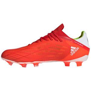 X Speedflow.2 FG Fußballschuh Herren, rot / weiß, zoom bei OUTFITTER Online