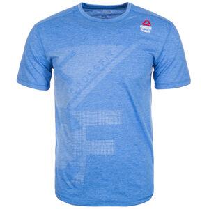 CrossFit Burnout Trainingsshirt Herren, blau, zoom bei OUTFITTER Online