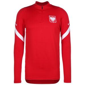 Polen Dry Strike Drill Sweatshirt EM 2021 Herren, rot / weiß, zoom bei OUTFITTER Online