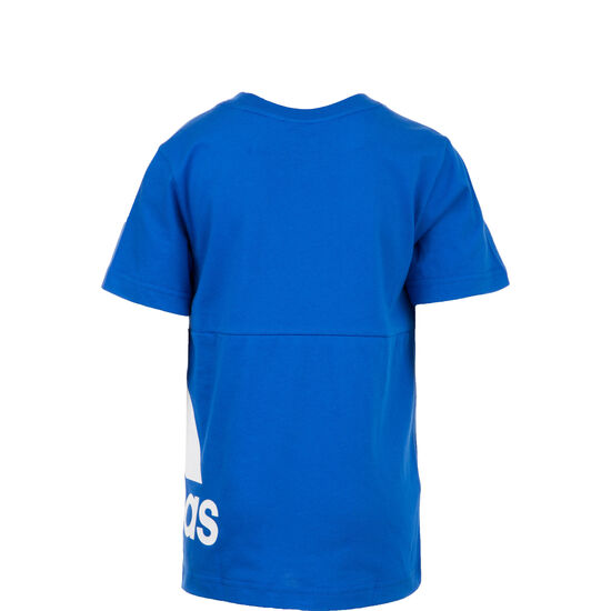Must Haves Badge Of Sport Trainingsshirt Kinder, blau / weiß, zoom bei OUTFITTER Online