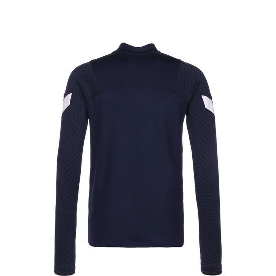 Frankreich Dry Strike Drill Sweatshirt Kinder, blau / weiß, zoom bei OUTFITTER Online