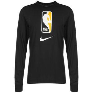 NBA Team 31 Dry Trainingsshirt Herren, schwarz / gelb, zoom bei OUTFITTER Online