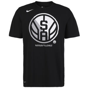 NBA San Antonio Spurs Dry Logo T-Shirt Herren, schwarz, zoom bei OUTFITTER Online