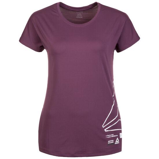 Activchill Graphic Trainingsshirt Damen, lila, zoom bei OUTFITTER Online
