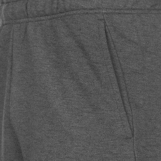 Fleece Trainingsshorts Herren, dunkelgrau / grau, zoom bei OUTFITTER Online