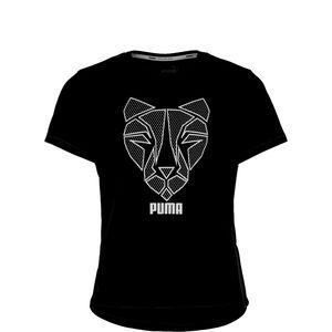 Runtrain T-Shirt Kinder, schwarz, zoom bei OUTFITTER Online