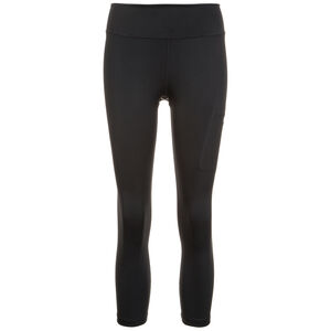 Power Crop Trainingstight Damen, Schwarz, zoom bei OUTFITTER Online