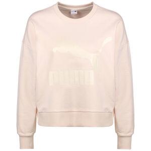 Classics Logo Metallic Sweatshirt Damen, altrosa / rosé gold, zoom bei OUTFITTER Online