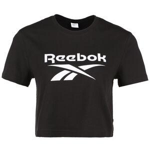 Classic Big Logo T-Shirt Damen, schwarz / weiß, zoom bei OUTFITTER Online