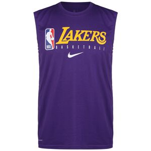 NBA Los Angeles Lakers Practice Graphic Tanktop Herren, lila / gelb, zoom bei OUTFITTER Online