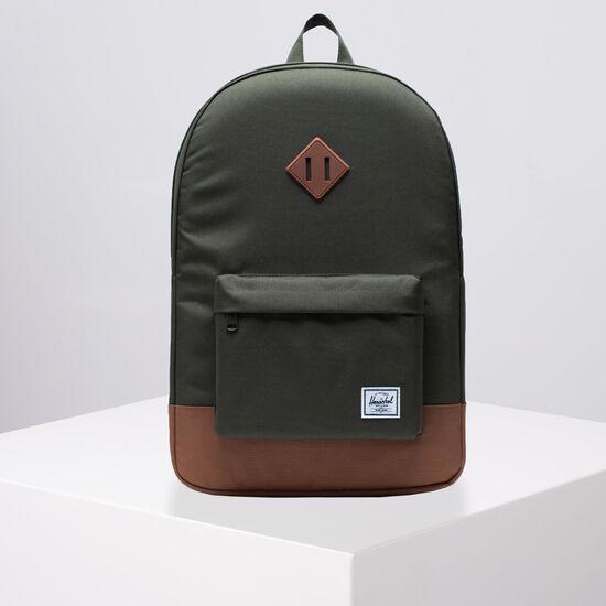 Heritage Rucksack, oliv / braun, zoom bei OUTFITTER Online