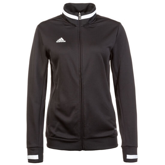 Team 19 Trainingsjacke Damen, schwarz / weiß, zoom bei OUTFITTER Online