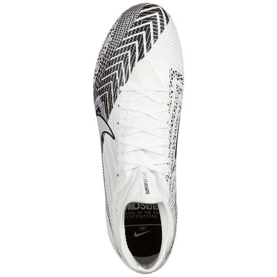 Mercurial Superfly 7 Pro MDS AG-Pro Fußballschuh Herren, weiß / schwarz, zoom bei OUTFITTER Online