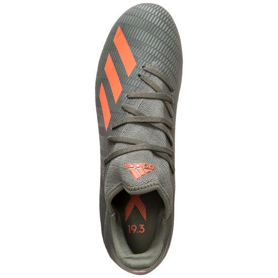 X 19.3 MG Fußballschuh Herren, oliv / orange, zoom bei OUTFITTER Online