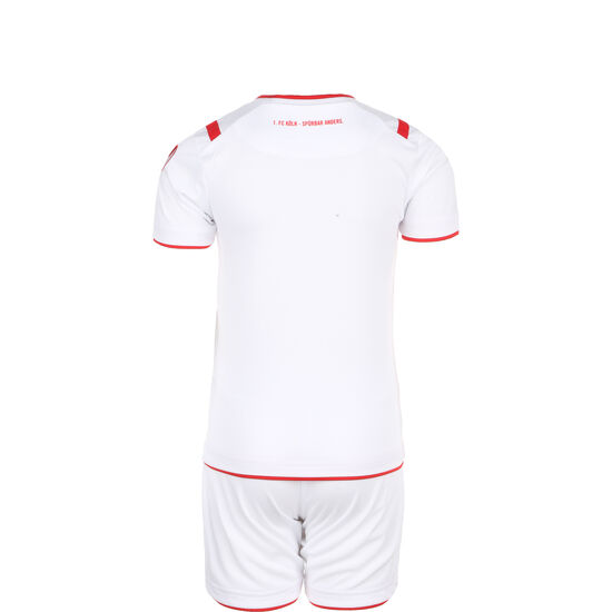 1. FC Köln Minikit Home 2019/2020 Kinder, weiß / rot, zoom bei OUTFITTER Online