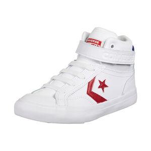 Pro Blaze Strap Varsity High Sneaker Kinder, weiß / rot, zoom bei OUTFITTER Online