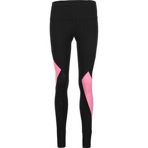 Rush Embossed Trainingstight Damen, schwarz / pink, zoom bei OUTFITTER Online