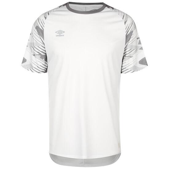 Jersey Fußballtirkot Herren, weiß / hellgrün, zoom bei OUTFITTER Online