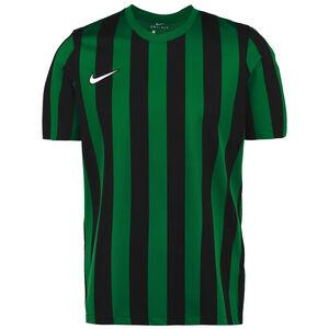 Striped Division IV Fußballtrikot Herren, grün / schwarz, zoom bei OUTFITTER Online