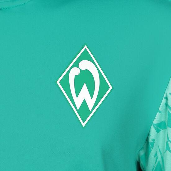 SV Werder Bremen Half Zip Longsleeve Herren, grün / weiß, zoom bei OUTFITTER Online