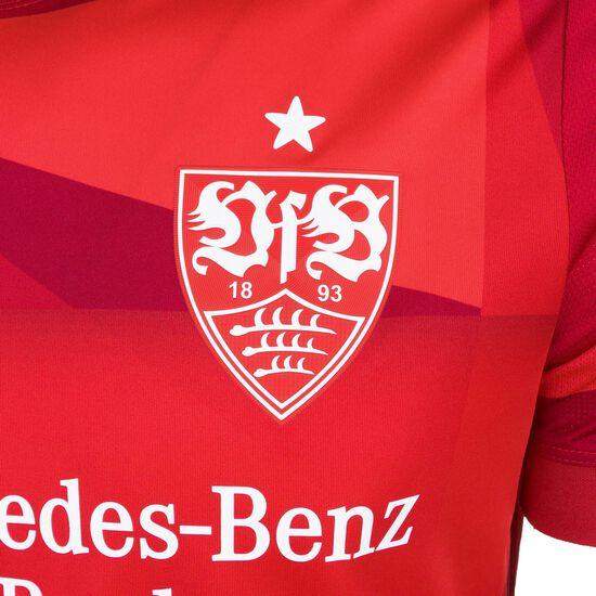 VfB Stuttgart Trikot Away 2019/2020 Herren, rot / weiß, zoom bei OUTFITTER Online