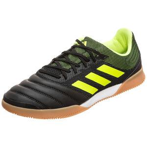 Copa 19.3 Sala Indoor Fußballschuh Herren, schwarz / neongelb, zoom bei OUTFITTER Online