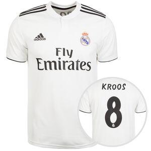 Real Madrid Trikot Home Kroos 2018/2019 Herren, Weiß, zoom bei OUTFITTER Online