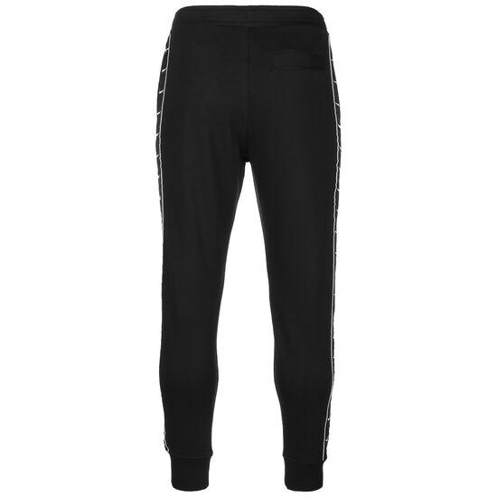 Swoosh Fleece Jogginghose Herren, schwarz / weiß, zoom bei OUTFITTER Online