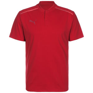 TeamCUP Casuals Poloshirt Herren, rot, zoom bei OUTFITTER Online