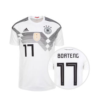 DFB Trikot Home Boateng WM 2018 Kinder, Weiß, zoom bei OUTFITTER Online