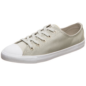 Chuck Taylor All Star Dainty OX Sneaker Damen, beige / weiß, zoom bei OUTFITTER Online