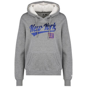 NFL New York Giants Logo Kapuzenpullover Damen, grau / blau, zoom bei OUTFITTER Online