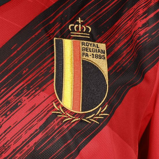 RBFA Belgien Trikot Home EM 2020 Herren, rot / schwarz, zoom bei OUTFITTER Online