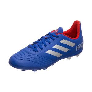 Predator 19.4 FxG Fußballschuh Kinder, blau / rot, zoom bei OUTFITTER Online