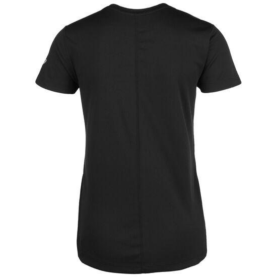Silver Graphic Laufshirt Damen, schwarz / weiß, zoom bei OUTFITTER Online