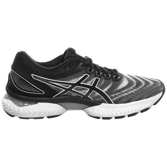 Gel-Nimbus 22 Laufschuh Herren, weiß / schwarz, zoom bei OUTFITTER Online