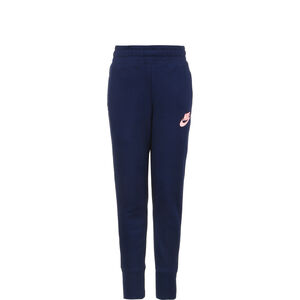 Club French Terry Jogginghose Kinder, dunkelblau / rosa, zoom bei OUTFITTER Online