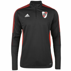 River Plate Trainingssweat Herren, anthrazit / rot, zoom bei OUTFITTER Online