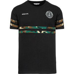 DMWU Camo T-Shirt Herren, schwarz, zoom bei OUTFITTER Online