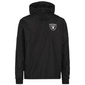 NFL Las Vegas Raiders Taping Windbreaker Herren, schwarz / weiß, zoom bei OUTFITTER Online