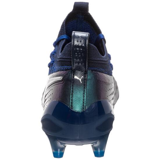 ONE 1 Lth FG/AG Fußballschuh Herren, blau / silber, zoom bei OUTFITTER Online