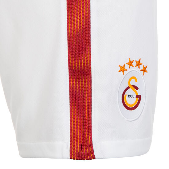Galatasaray Istanbul Short Away Stadium 2017/2018 Kinder, Weiß, zoom bei OUTFITTER Online